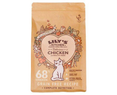 Lilys/K Delicious ChickenComplete For Cats [800g x 4]