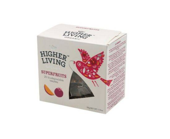 Higher Living Superfruit Teapees 20 Bags