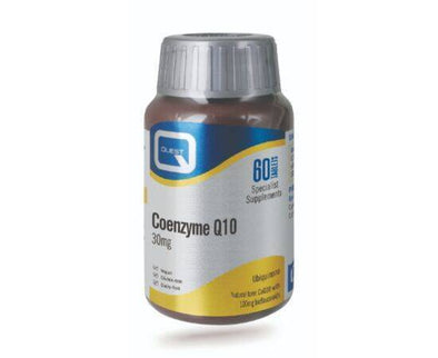 Quest Coenzyme Q10 30Mg Tablets 60s