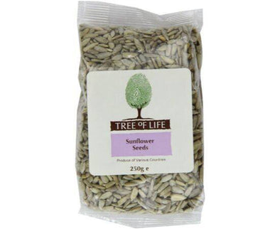 Tree Of Life Sunflower  Seeds 250g x 6