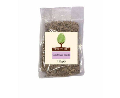 Tree Of Life Sunflower  Seeds 125g x 6