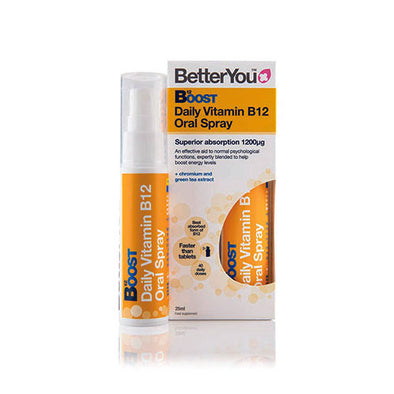 BetterYou® B12 Oral Spray Apricot Flavour 1200 µg 25 ml