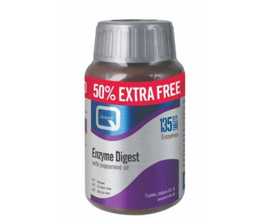 Quest Enzyme Digest Tabs50% Extra Free [(90+45s)]