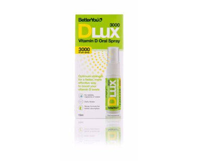 Better You Dlux3000 DailyVit D Oral Spray [15ml]