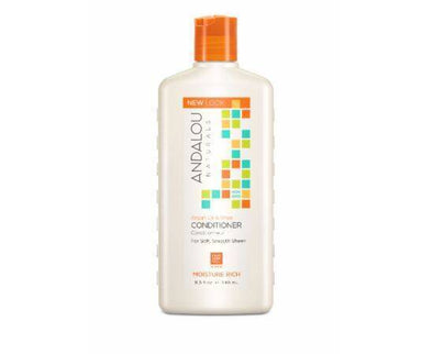 ANDALOU ARGAN & SHEA MOISTURE RICH CONDITIONER 340ML