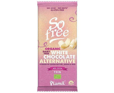 Plamil So Free Org WhiteChoc Alt Thin [70g x 12]