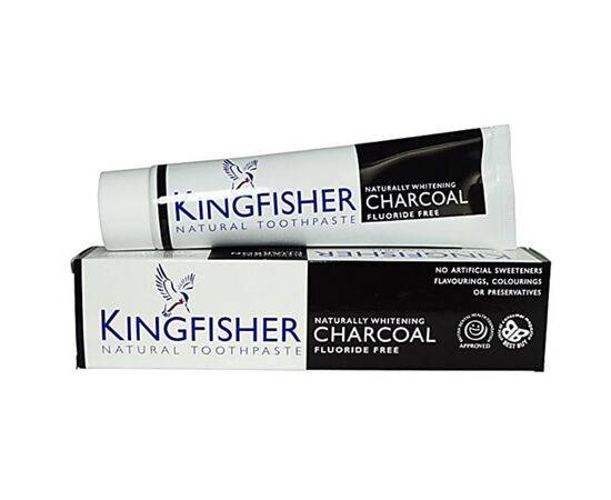 Kingfisher Charcoal NatWhitening Toothpaste [100ml]