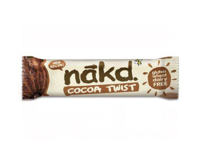 Natural Balance Foods Nakd Cocoa Twist Bar  Multipack 30g x 18