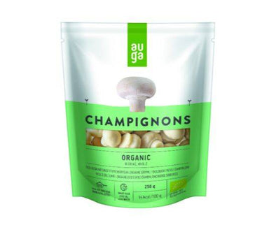 AUGA WHOLE ORGANIC CHAMPIGNONS IN BRINE 250G