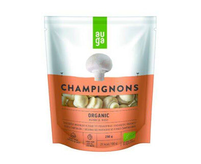 AUGA MARINATED WHOLE ORGANIC CHAMPIGNONS 250G
