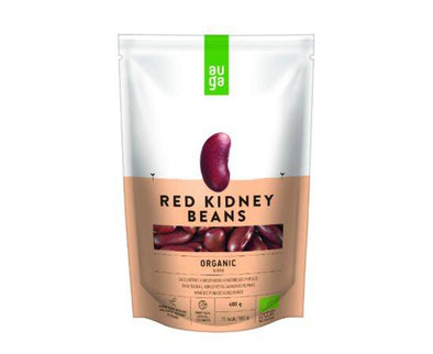 AUGA ORGANIC RED BEANS IN BRINE 400G