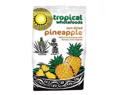 Tropical/W Org FT DriedPineapple [100g]
