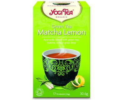 Yogi Tea Green Tea Matcha Lemon  Organic Tea 17 Bags