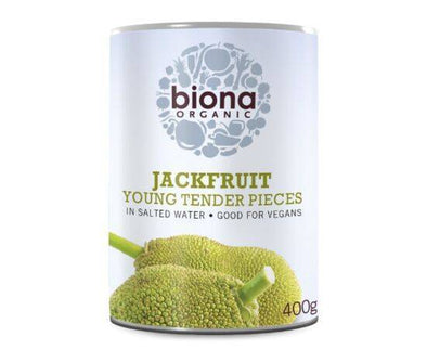 Biona Org Jackfruit inSalted Water [400g x 6]