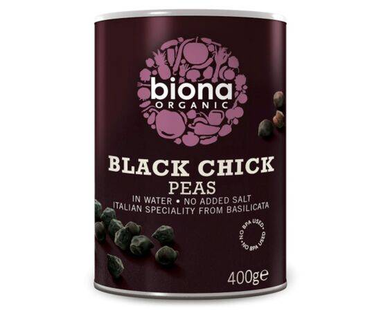 Biona Org Black Chickpeas No Bpa In Can [400g x 6]