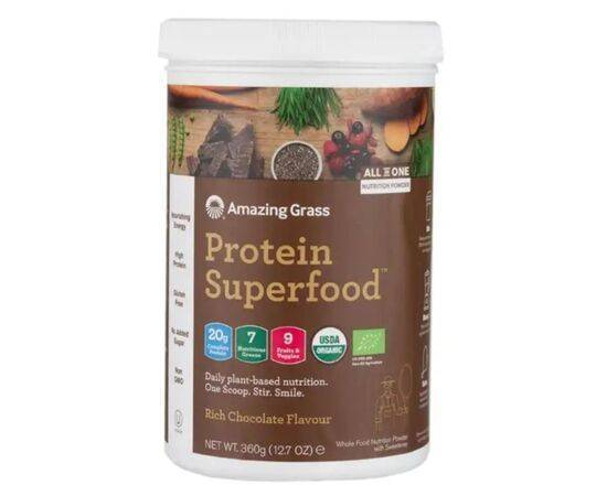 Amazing Grass Protein Superfood Rich Chocolate [360g]