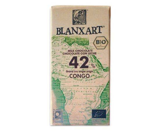 Blanxart 42% Congo MilkOrg Single Origin [48g x 21]