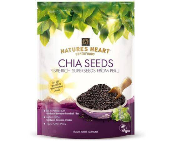 Natures Heart Chia Seeds[200g]