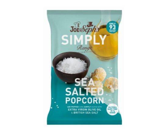Joe & Sephs Simply SaltedPopcorn [16g x 18]