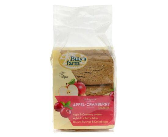 Billys Farm Apple Cranberry Spelt Cookies  [175g]