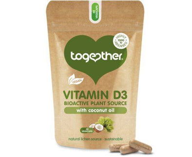 Together Vegan Vit D3 Food Supp Caps [30s]
