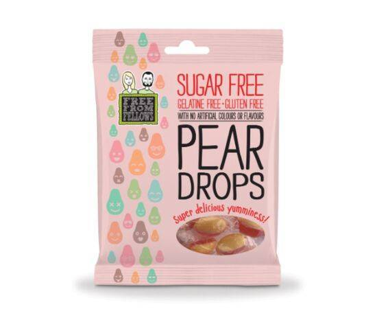 Free From Fellow Pear Drops Sweets [70g]