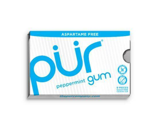 Pur Peppermint Gum Bliste [9 Piece x 12]
