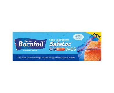 Baco Safeloc Bags - 1Ltr[20s]
