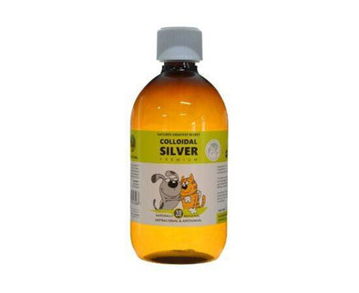Optimised Energetics Natures G/Secret  Colloidal Silver For Pets - 10Ppm x500ml