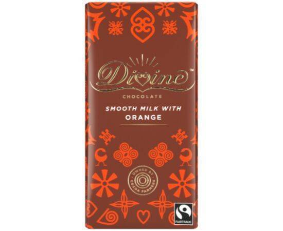 Divine Milk ChocolateOrange [90g x 15]