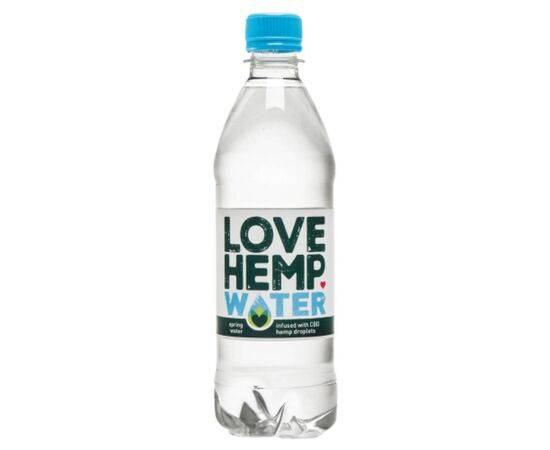 Windfall Logistics Love Hemp Water Love Hemp Water  Cbd Infused 500ml x 12