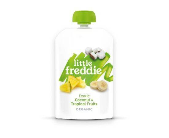 Little Freddie CoconutTropical Fruit 4m+ [100g x 6]