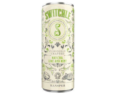 Switchle Org Matcha Lime/Mint Drink [250ml x 12]