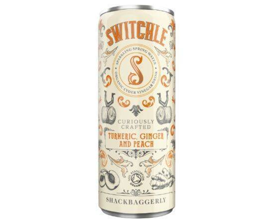 Switchle Org Turmeric Ginger/Peach Drink [250ml x 12]