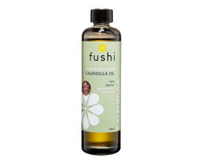 Fushi Almond Infused OrgCalendula Oil [100ml]
