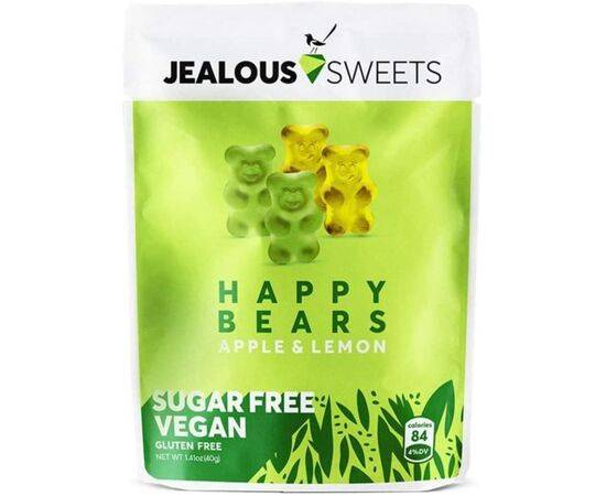 Jealous Sweets Sugar Free & Vegan Happy Bears 40g x 10