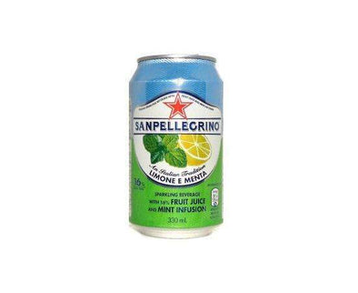 San Pellegrino Fruit Beverage Lemon/Mint [330ml x 24]