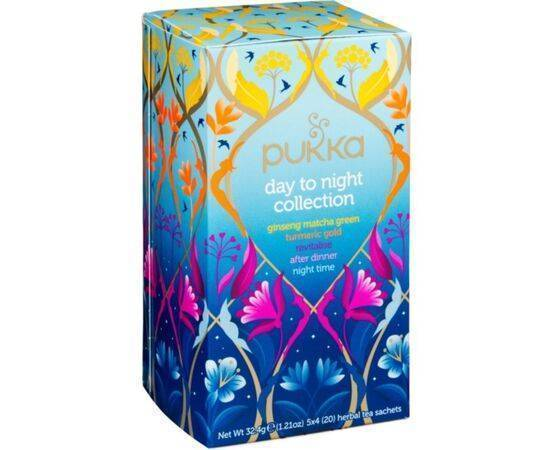 Pukka Day To Night HerbalTea Collection [20 Bags]