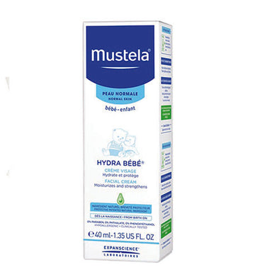 Mustela® Hydra Bébé® Baby Facial Cream 40 ml for 1 month Babies 0.10 lb 1 Pack
