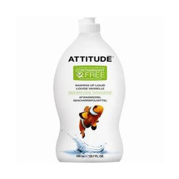 Attitude Green Apple & Basil Washing Up Liquid 700ml