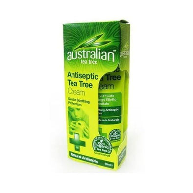 AUSTRALIAN TEA TREE ANTISEPTIC CREAM 50ML