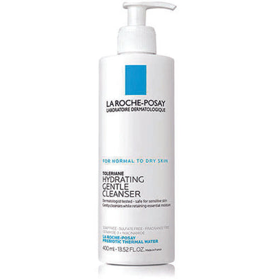 La Roche-Posay® Facial Cleanser Cream 400 ml Bottle 1 Pack