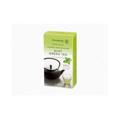Clearspring Mint Green Tea 40g