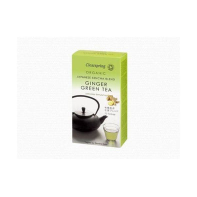 Clearspring Ginger Green Tea 40g