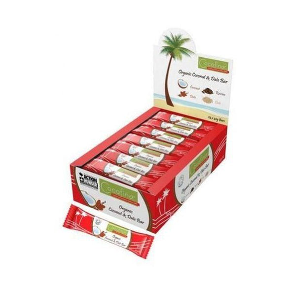 Cocofina Coconut & Date Bar 40g x 24