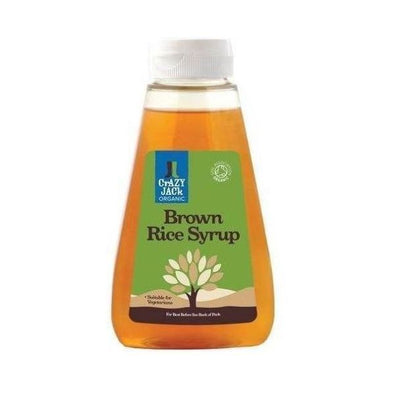 Crazy Jack Brown Rice Syrup  Organic 330ml
