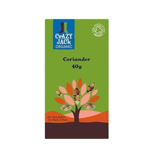 Crazy Jack Coriander  Ground 50g x 6