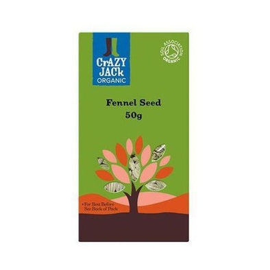 Crazy Jack Fennel Seed 50g x 6
