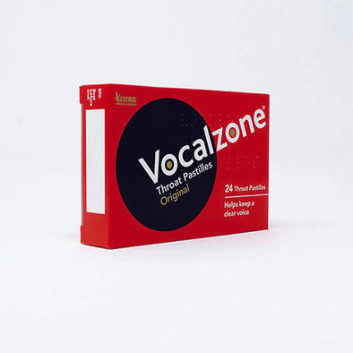 Vocalzone® Throat Pastille Solid Box 24