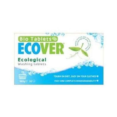 Ecover Laundry Washing Tablets  32 Washes 32s
